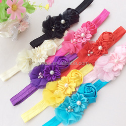 High quality cheapest price pearl infant hair headband