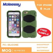 Economic cute design silicone covers for iphone 6 plus