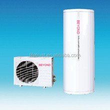 Split type air source heat pump 150L and cheap heat pumps