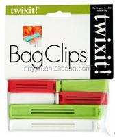 india animal sax clip plastic belt bread bag clip