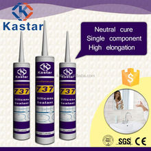 Bathroom neutral waterproof silicone sealant