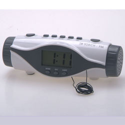 Radio Controlled Digital Clock, Clocks with Torch, China Trading Goods