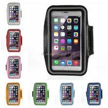 Running Sports Armband Case for iPhone 6 Plus, Size: 160 x 85mm - Black