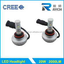 No fan led headlight kit 3S LED headlight kit for motor cycles and cars with five colors chanding available