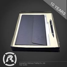 Delicate Specialized Produce PU Hardcover Executive Notebook With Pen