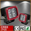 high quality IP68 waterproof off road vehicles red led work light IP68