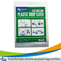 Plastic furniture cover transparent plastic sheets