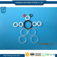 SI,FKM,NBR,HNBR,EPDM Customed Sizes Food-Grade Red Silicone Rubber Gasket