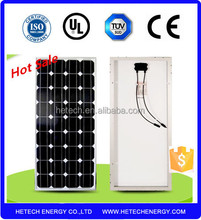 High quality low price elaborate process perfect service Chinese 18V solar panel 100w mono