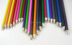 Wood color pencil 24