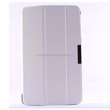 """8"""" folio flip leather case back hard cover ,for lg v480 tablet case"""