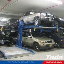 PJS Two Post Design auto lift for car/double decker car lift