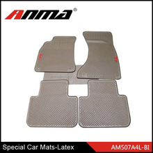 TOP SELLING ! ANMA high quality beige Latex Car Mat for special car