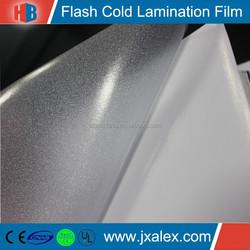 YF1208 High Quality Glitter Cold Laminating Film Roll, PVC Glitter Cold Laminating Film, Wholesale Glitter Cold Laminating Film