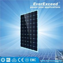 EverExceed High Efficiency 65w Monocrystalline Solar Panel for solar street light system with intelligent controller