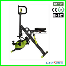 AB7500 Total Crunch/Horse Rider/Body Crunch with Magnetic X Bike