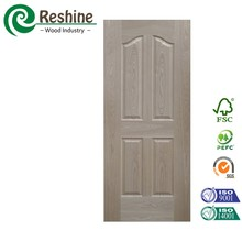 Internal molded wood door skin mdf veneer