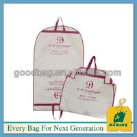 2014 Top Quality Customized non woven suit cover making and printing MJ-NW0333-C