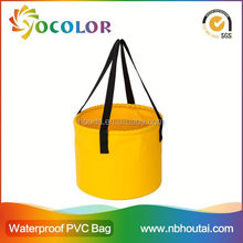 Flexible and foldable pvc tarpaulin Hot Sale Wholesale Popular Promotional Plastic Buckets