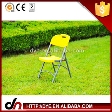 Plastic foldable high quality plastic folding chair,steel tube chair,fishing chair