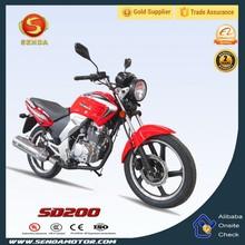 Newest Hongbao Model 200cc Engine Street Sport Bike SD200
