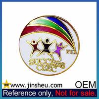 Wholesale Custom High Quality Enamel Metal Souvenir Badge Lapel Pin