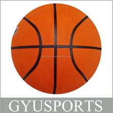 GY-D011 best selling Rubber cheap balls basketball for Children