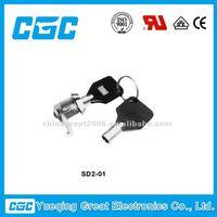 China KEY LOCK SWITCH SD2-01 waterproof push button