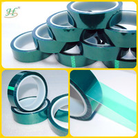200C Green High Temperature Masking Tape For Painted Glass