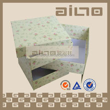 With FSC certificate beautiful small products paper packing box with 3 drawers