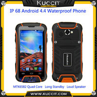 original Huadoo V3 MTK6582 IP68 rugged android 4.4 kitkat Waterproof Phone 1GB Gorilla Glass 2 Smartphone 3G GPS A8 A9 M8