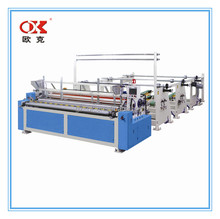 engineers overseas available brand New Condition toilet tissue production line