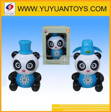 Electric stunt panda toy battery operated toy