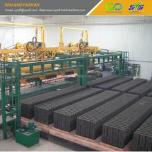 automatic brick setting system in brick production line brick making machine