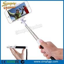 phone gadget Pocket size Brand new portable bluetooth wireless monopod selfie stick