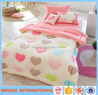 Home choice bedding soft girl kid's crib bedding set