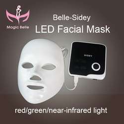 Brighter shopping!red/Green/near-infrared light of personal care led facial mask machine