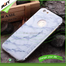 New marble pattern design cell phone cover for iphone 6 6s factory price pc back cover case aluminium bumper case for iphone 6