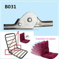 Folding chair/sofa collapsible hinge