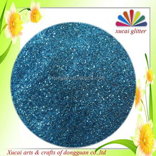 Nail art glitter powder mylar sheet decoration
