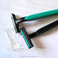 One time use beard shaver razors