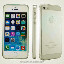 Soft Super Ultra-thin Clear TPU Case for Apple iPhone 5 5S Back Cover Protect Skin Silicon