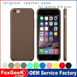 New original official 1:1 original leather case for iphone 6 /iphone 6 plus , for iphone 6s case