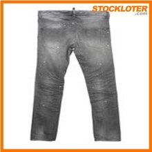 Directly from factory order cancelled shipment stock Mens jeans pants 127,200pcs closeout 140513G9