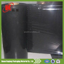 High loading uv resistant black plastic silage film