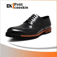 Hot sale men casual shoe real leather dress shoes guangzhou