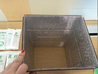 insulated carton box with aluminum foil
