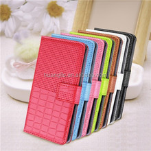 High Quality Case For Huawei Ascend P6 Various color PU Leather Wallet Stand Case Flip Hardholder Cover