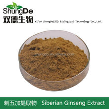 Manufacturer of spot supply acanthopanax acanthopanax extract saponins 0.8% fatigue resistance to radiation hypoxia
