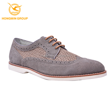 2015 new style fashion breathable soft sole lace up suede casual shoe for men, bulk wholesale comfort branded leather man shoe